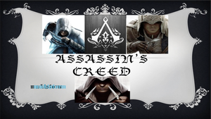 Assassin's Creed Sig. by mwktstorm7200