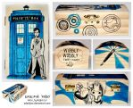 Doctor Who wooden box 3 by ElaRaczyk