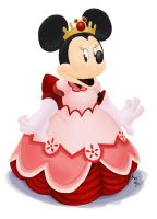 All Hearts - Queen Minnie by LynxGriffin