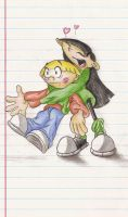 KND : Wally and Kuki by Super-Sonic-101