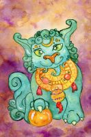 Foo Dog by Starrydance