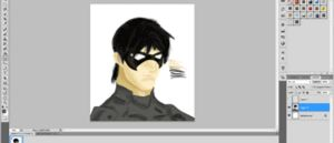 Nightwing: How it's made (click to see) by zutara-canon