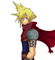Cloud Strife WIP by jadewings72