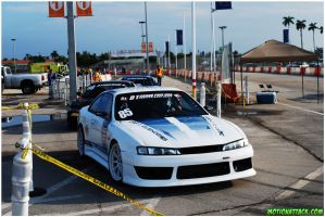 s14 silvia Before practice by motion-attack
