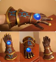 League of Legends - Ezreal 's Glove by Shappi