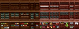 RPG Maker Tile - Furniture II by Ayene-chan
