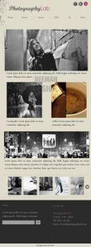 Photography Lab - Web Design by Bellie
