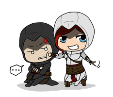 Silly Altair by RaptorOFire