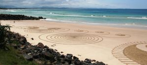 Sand Circles 3 by LESHA