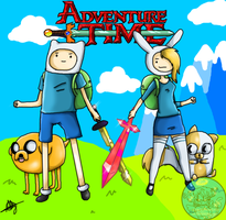 What Time is it?Adventure Time! by xxAlyMetalGirlxx