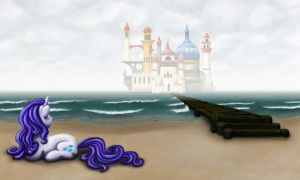 Rarity on the Beach by Dahtamnay
