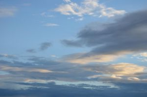 evening sky III by mimose-stock