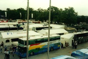 Monza Paddock (Italy 1995) by F1-history