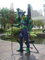 EVA-01 at Central Park Mall 11 by V-male