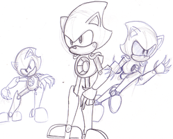 Metal Sonic by TheIcedWolf