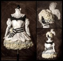 Black Butler Doll Costume Commission by Caliypsoe