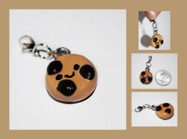Chocolate Chip Cookie Charm by brandimillerart