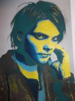 Gerard Way Pop Art by Claire-Lumsden