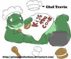 : New OC: Travin the gator: by PlumpProductions