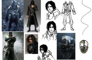 Corvo sketches by Artsed