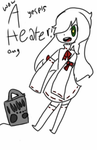 Oh my god a heater by Galaxy-Flowers