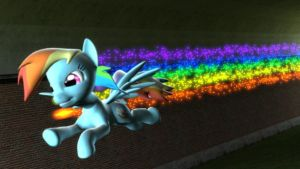 Sonic Rainboom Afterburn by CharlyRock95