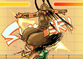 ibuki neckbreaker move by EnriqueNL