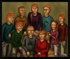 Weasleys by Weasley-is-my-king