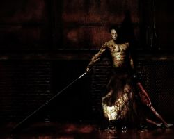 James is the Pyramid Head by Vicentenog