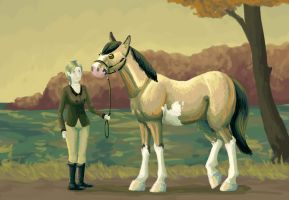 Autumn Afternoon by femalefred