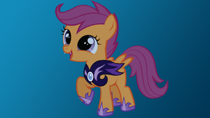 Night Guard Scootaloo by schwarzekatze4