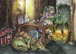 In the kitchen of a witch by mirelai