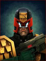 Judge Dredd by TovMauzer