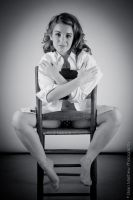 Chair Nude Series... Implied BnW by BrianMPhotography