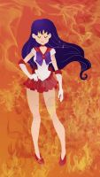 Sailor Mars by xYaminogamex