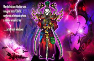 Eldar Warlock by The-First-Magelord