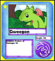Gweegon Card (Adopt) by Dianamond