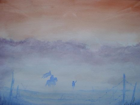 The Front Watercolour by FortuneandGlory