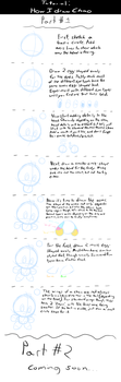 Tutorial - How I draw Chao - Part 1 by Zipo-Chan