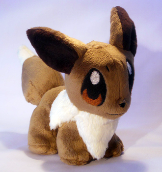Teeny Eevee by FeatherStitched