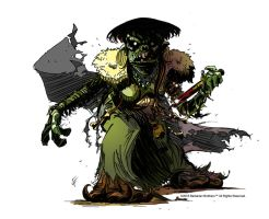 SAVAGE CONQUEST WITCH by ChrisFaccone