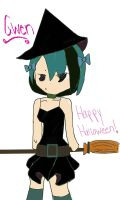 TDI-Gwen-Happy Halloween by MiharutheKunoichi