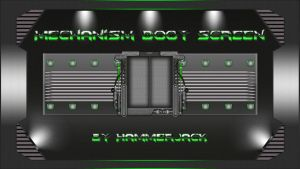 Mechanism Green Boot Screen for Windows 7... by mTnHJ