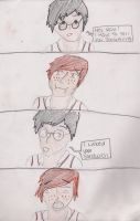 ron and harry by Holleester