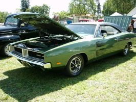 1969 Dodge Charger front view by RoadTripDog