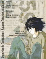 SAJAC Spring Ad: Death Note by Midori84