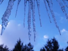 Icicles 1 by Dracoart-Stock