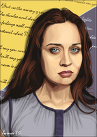 Fiona Apple - Vector by rhobdesigns