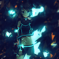 Light Girl Anime by tobip0