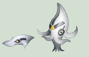 Cuttela Cuttelore -fakemon by AetherEch0s
